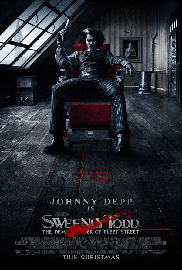 50 brilliantly photoshopped movie posters 16 sweeney todd the demon barber of fleet street pronofoot35fo Image collections