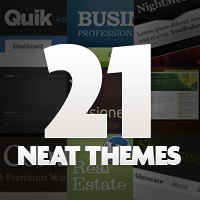 Preview for 21 Neatest Templates on ThemeForest