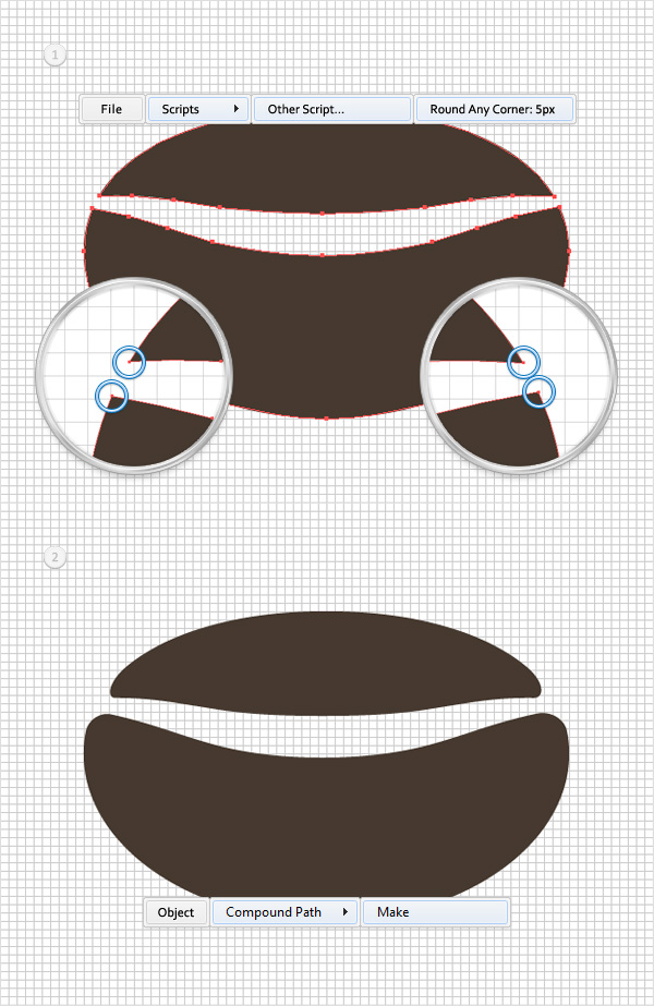 Quick Tip Create A Seamless Coffee Bean Pattern In Illustrator