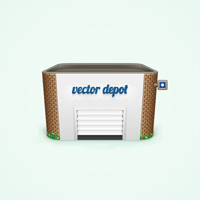 Preview for How to Create a Detailed Depot Building Icon in Adobe Illustrator