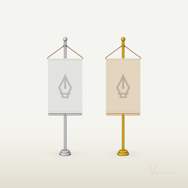 Link toHow to create a detailed flag stand illustration in adobe illustrator