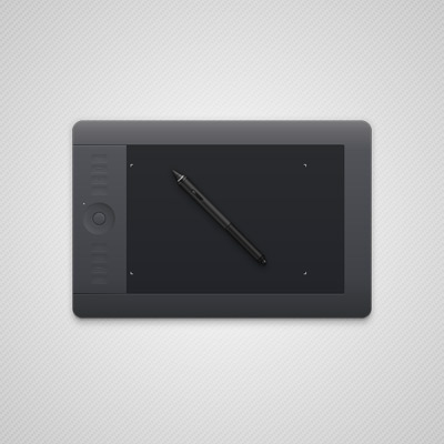 Preview for How to Create a Semi-Realistic Graphics Tablet in Adobe Illustrator