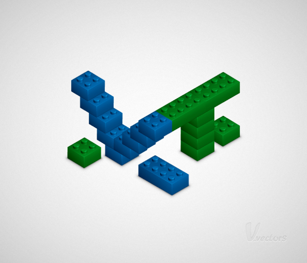 Link toHow to create a 3d lego text effect in adobe illustrator