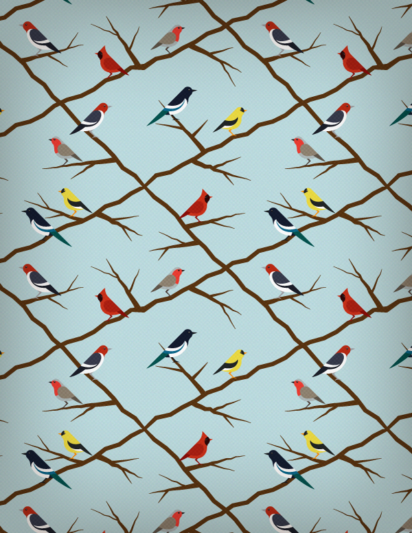 Link toHow to create a seamless bird pattern with retro touch in illustrator