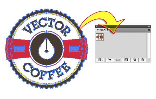 coffee-cup_drag symbol