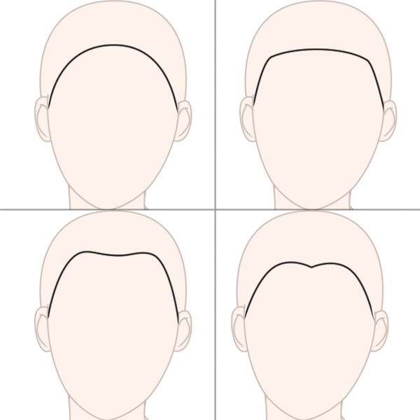 Drawing Hairlines : Create big gravity defying anime styled hair in adobe