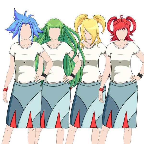 Create Big Gravity Defying Anime Styled Hair In Adobe