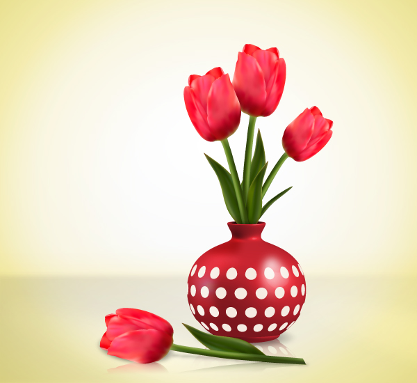 Link toCreate detailed tulips with gradient mesh, without the mesh tool in illustrator