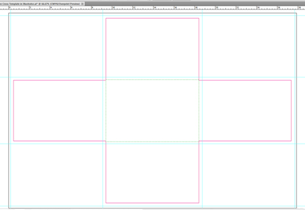 Link toHow to create an iron cross self-mailer template using adobe illustrator