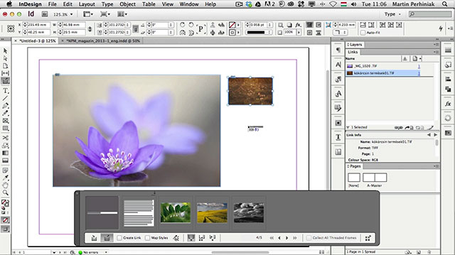 Link toReuse content with ease with adobe indesign's content conveyer tools