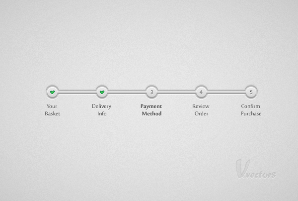 How to Create a Simple Step by Step Progress Bar in Illustrator