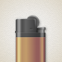 Preview for How to Create a Detailed Lighter in Adobe Illustrator