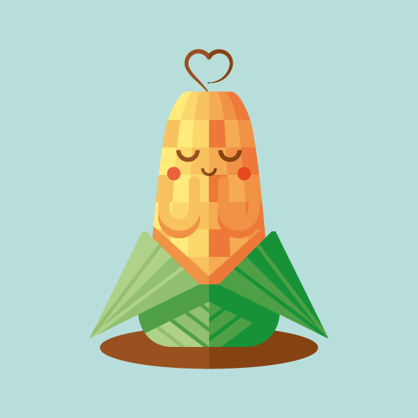Link toHow to create a cute corn illustration with basic shapes in illustrator