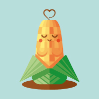 Preview for How to Create a Cute Corn Illustration with Basic Shapes in Illustrator