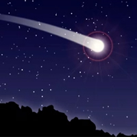 Preview for Quick Tip: How to Create a Comet with the Blend Tool and Blurs