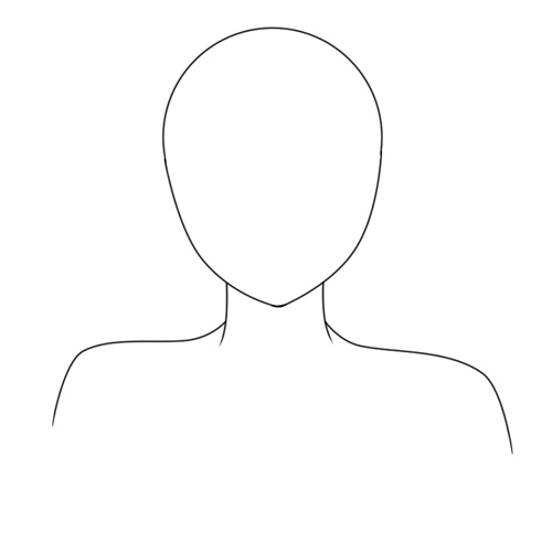 how to draw anime neck and shoulders