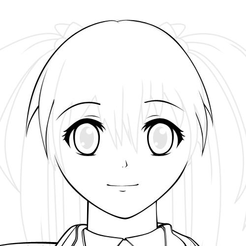 graphic design: Membuat Karakter Anime Vector di Adobe ...