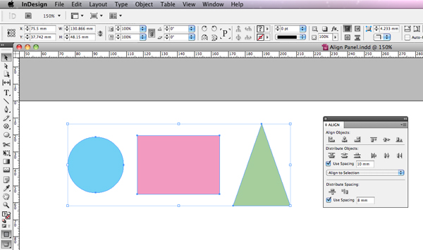 Link toQuick tip: how to use the align panel in adobe indesign