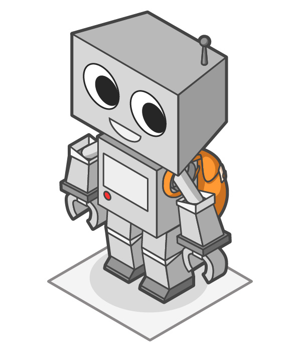 Link toHow to create a cute robot game sprite using ssr in adobe illustrator