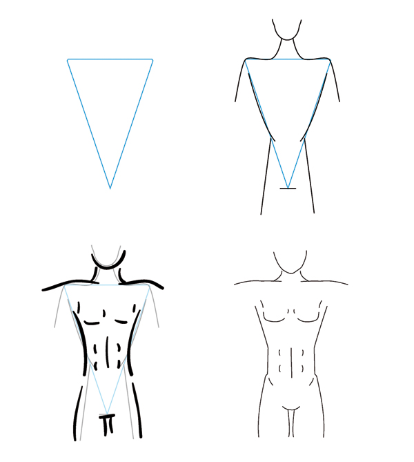 How To Draw Different Female Body Types