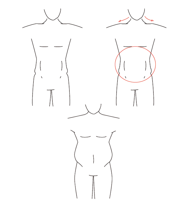 Step 14 Voluptuous Figure Male
