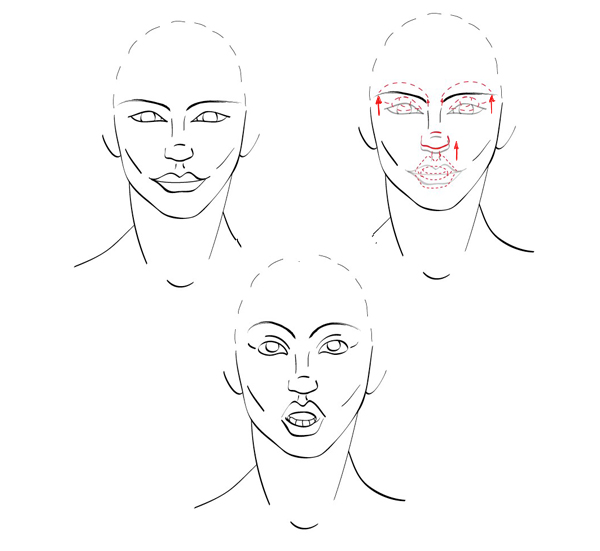 Quick Tip How To Draw Facial Expressions To Show Emotion