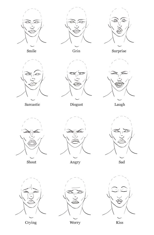 Link toQuick tip: how to draw facial expressions to show emotion