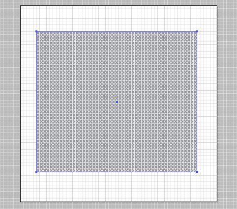Now That Im Happy With The Design Use Rectangle Tool M And Draw Across Whole Then Fill It Our Cross Stitch Pattern