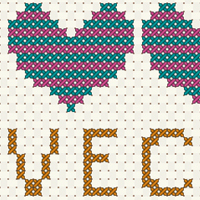 Sharon tut cross stitch preview