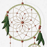 Preview for How to Create a Vector Dream Catcher with Brushes in Adobe Illustrator