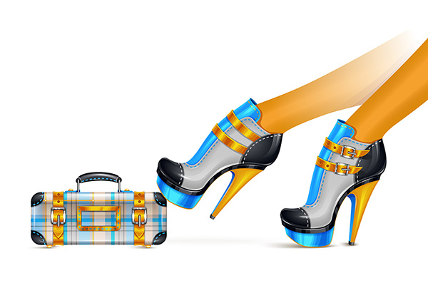 Link toHow to create a stylized shoes and clutch fashion illustration in illustrator