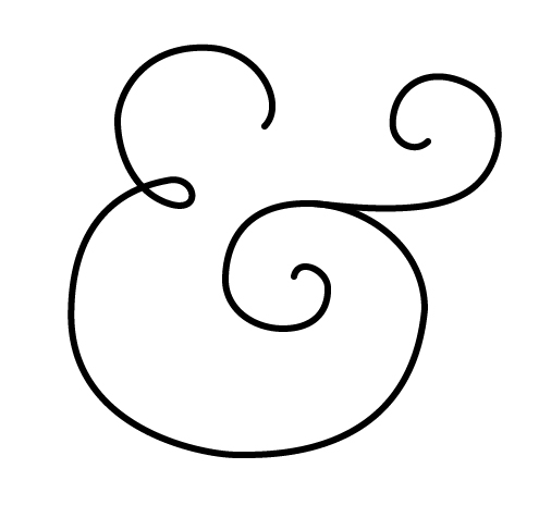How to create calligraphic ampersand symbols in illustrator Calligraphy and sign