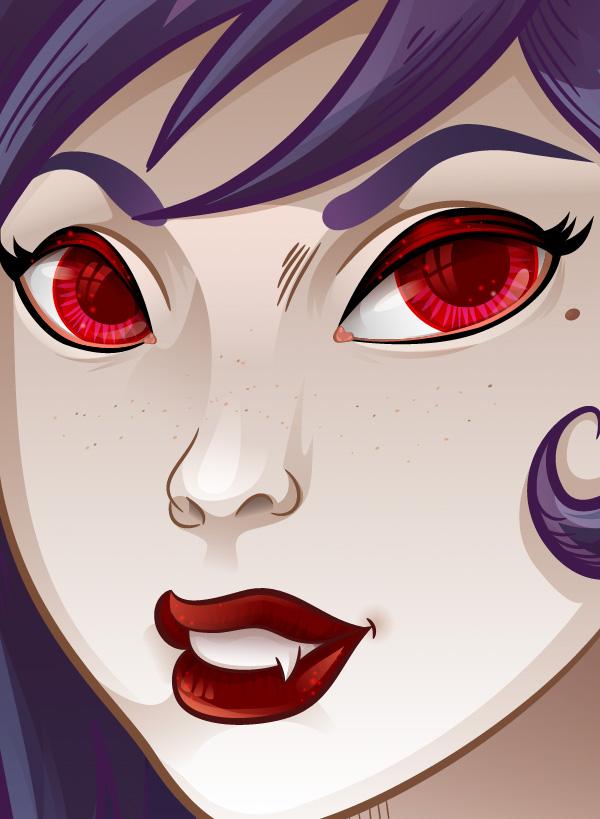 Vampiress_Freckles_Coloring
