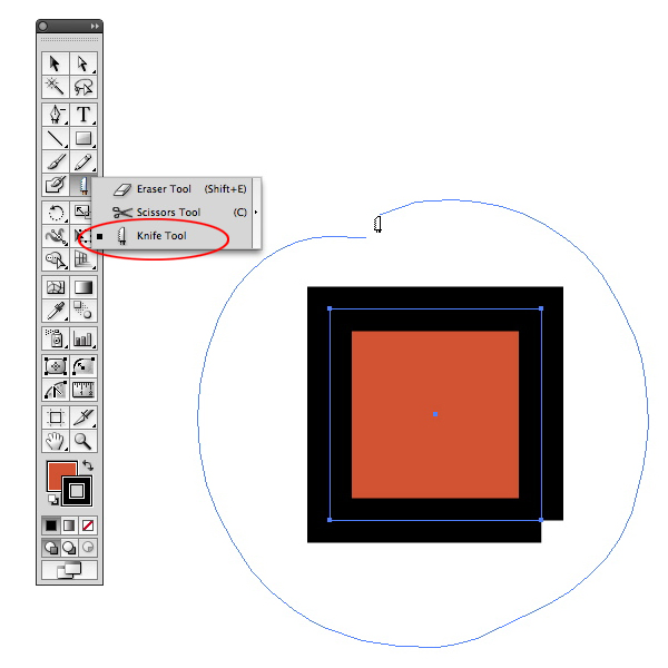 how to fix overlap objects in illustrator