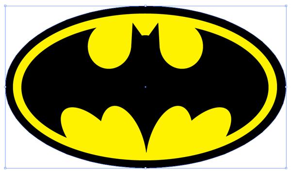 Link toHoly vector tutorial! create a retro batman logo in adobe illustrator!