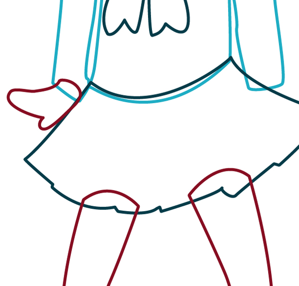 illustrator how to draw anime