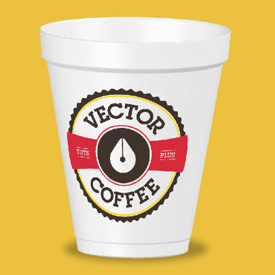 Coffee cup retina preview