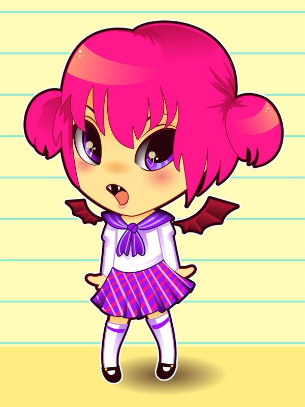 Link toHow to draw and vector a kawaii vampire chibi in illustrator