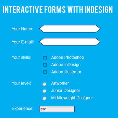 Preview for How to Create Interactive Forms with Adobe InDesign
