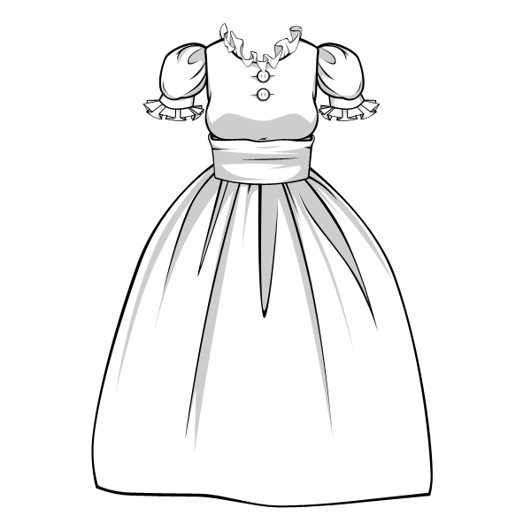 How To Draw Complex Folds And Ruffles In Fabric And Clothing