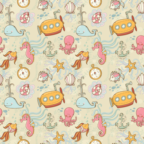 Link toCreate a summer underwater seamless pattern in adobe illustrator