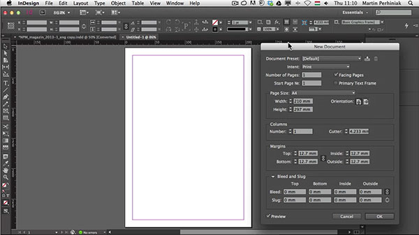 Link toWhat's new with adobe indesign cc: interface improvements