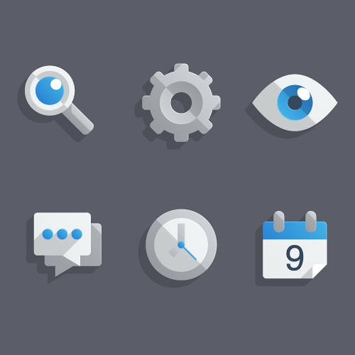 """Create a Set of """"Almost Flat"""" Modern Icons in Adobe ..."""
