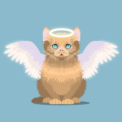 Preview for Create an Innocent Fluffy Kitten With Basic Shapes in Adobe Illustrator