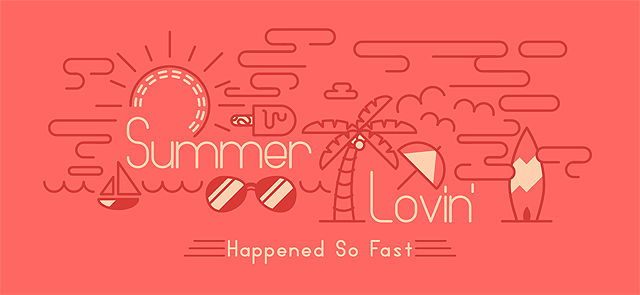 Link toCreate a summer inspired stroke art typography piece using sketch