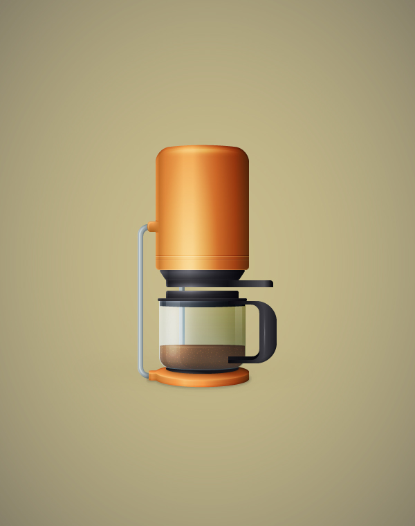 Link toCreate a detailed coffee maker illustration in adobe illustrator