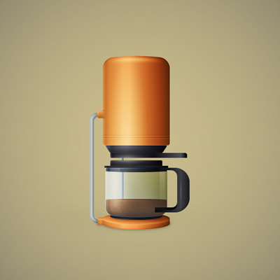 Preview for Create a Detailed Coffee Maker Illustration in Adobe Illustrator