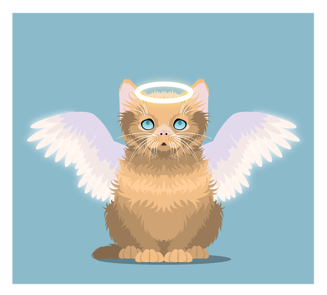 Link toCreate an innocent fluffy kitten with basic shapes in adobe illustrator