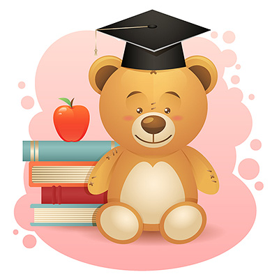 Preview for Create a Simple School Teddy Bear in Adobe Illustrator
