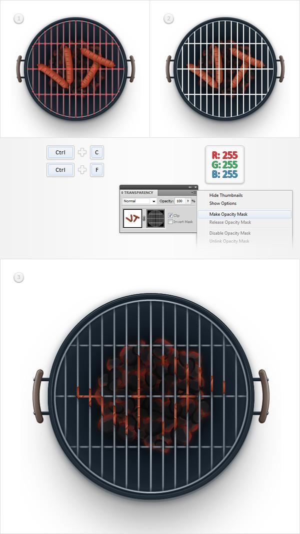 Barbecue Illustration